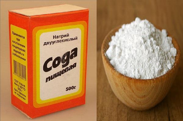 Лікування циститу содою