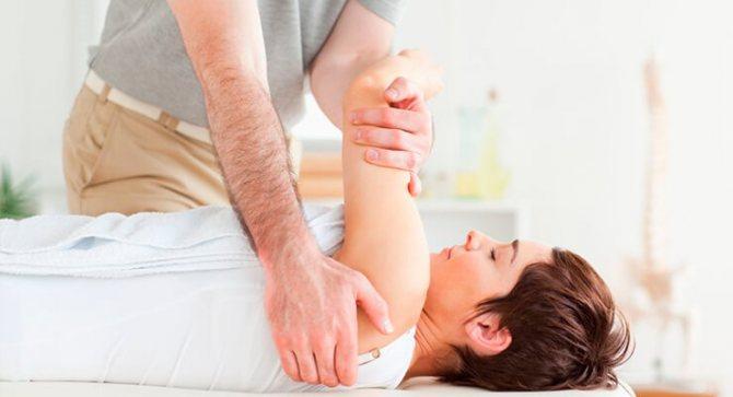 Лікування плечового суглоба
