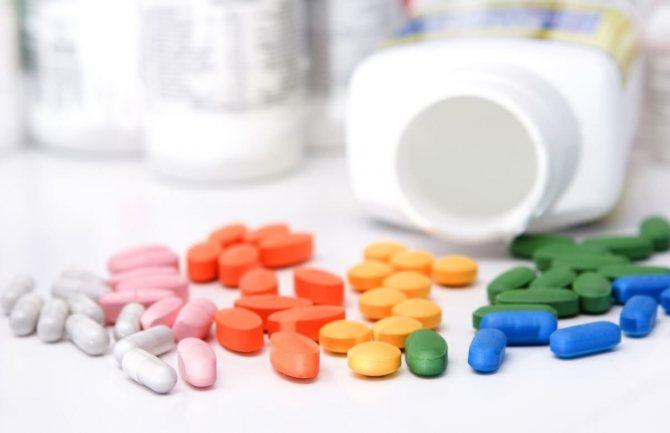 Лікування с помощью медікаментів