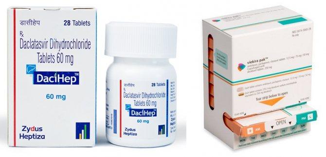 Ліки від гепатиту С