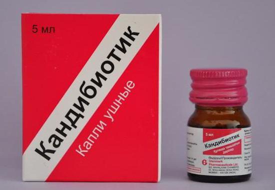 ліки від грибкового отиту