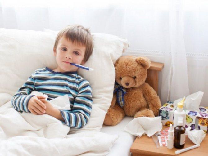 Ліки від грипу і ГРВІ для дітей