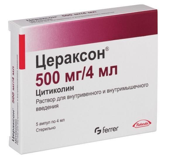 ліки цитиколін показання до застосування