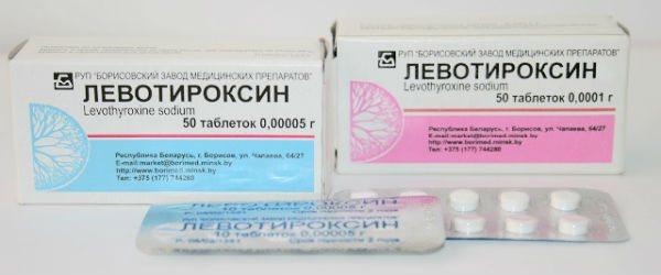 Льовотіроксин фото