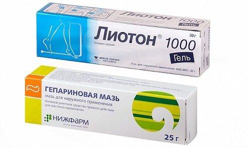 ліотон і гепарин