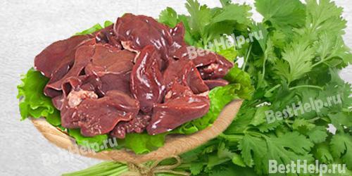 liver - Залізо без м'яса: чи можливо це? Продукти, багаті залізом
