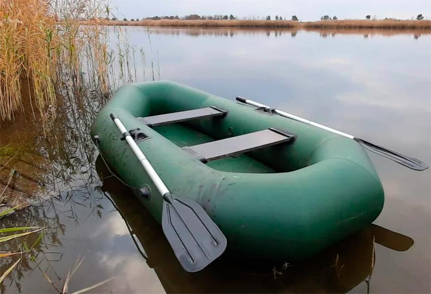 Надувная лодка для комфортной рыбалки