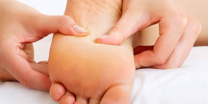 Мануальна терапія стопи