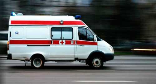 машина швидкої допомоги для дитини з помилковим крупом
