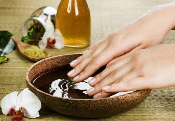 масляні ванночки для нігтів