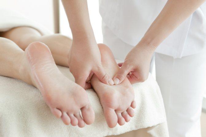 масаж стоп