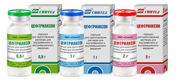 Медикаменти для лікування бронхіту