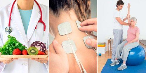 методи реабілітації: дієта, фізіотерапія, лікувальна гімнастика