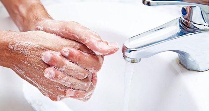мійте руки после їжі