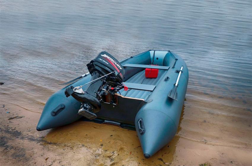 Надувная лодка с мотором (RIB)