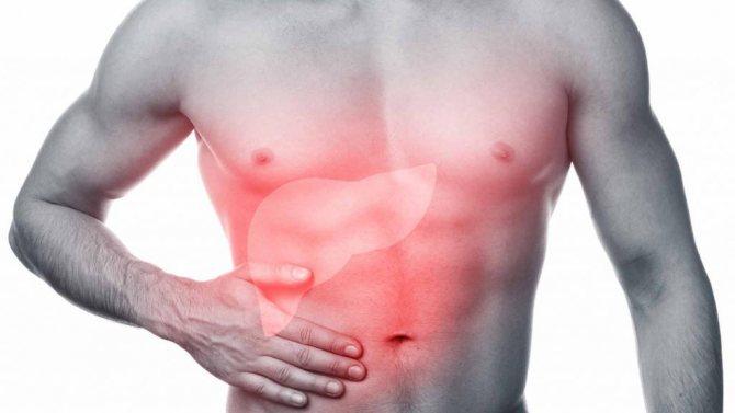 Порушення роботи печінкі