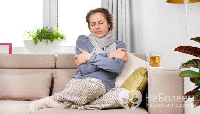 Порушення терморегуляції - ознака гіпоглікемії