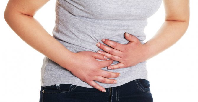 Порушення в роботі шлунка і кишечника