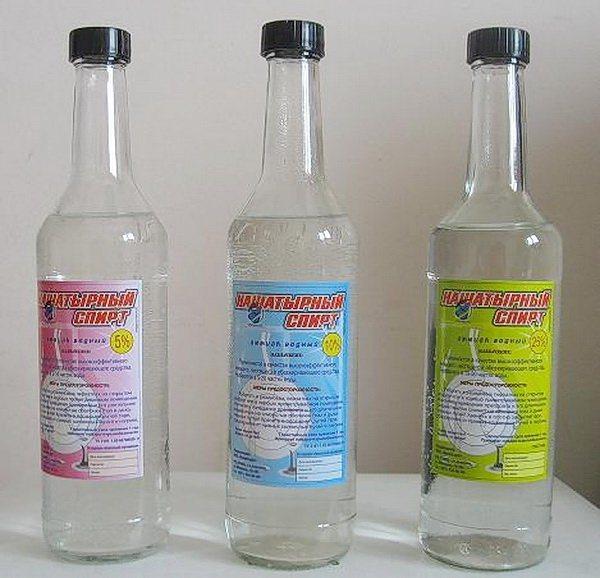 Нашатірній спирт, симптоми Отруєння