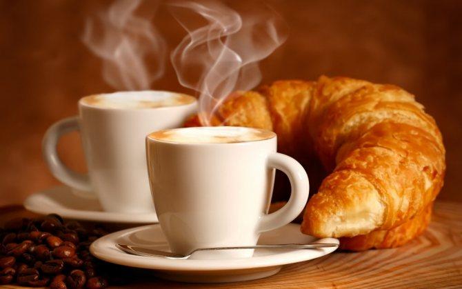 Не рекомендується пити каву на голодний шлунок