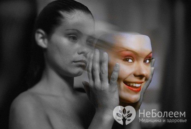 Неприродних піднесеній настрій - один Із сімптомів біполярного розладу
