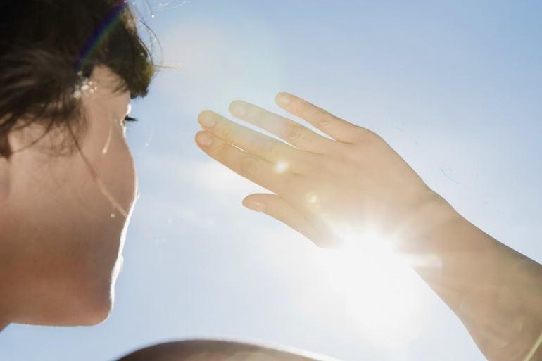 Необходимо унікат сильного Сонячна світла