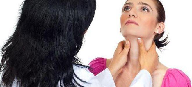 Нормальні розміри щитовидної залози