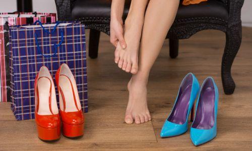 Носіння взуття на високих підборах - фактор ризики