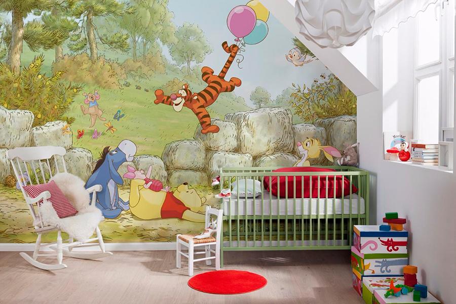 Фотообои в детской комнате (Дисней)