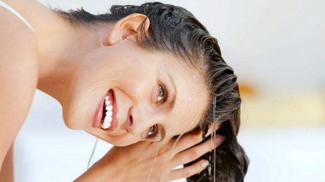 ополіскування волосся