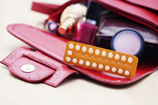Оральні контрацептиви - хімізм, типи, принцип Дії.  (Інфографіка).