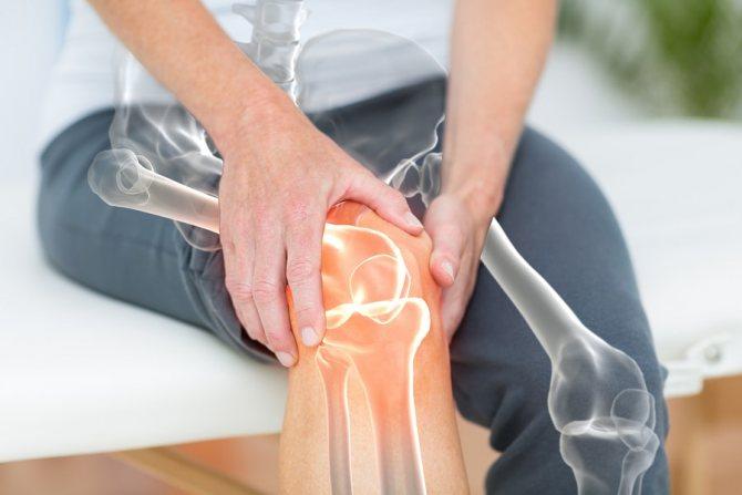 Остеопороз колінного суглоба