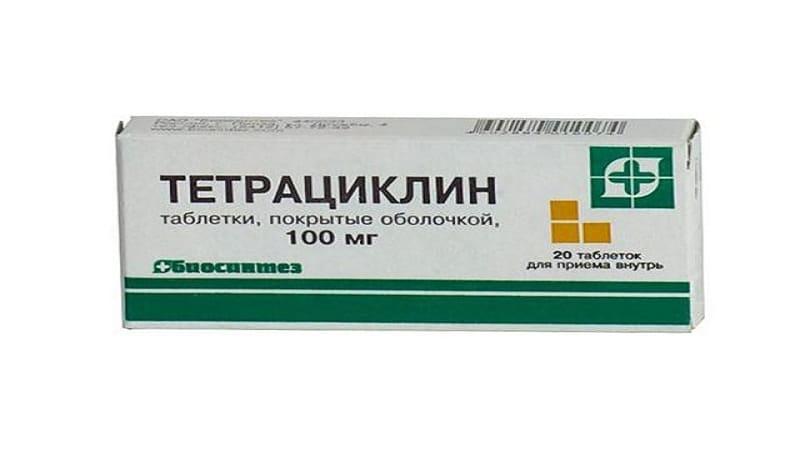 Від чого допомагають таблетки Тетрациклін