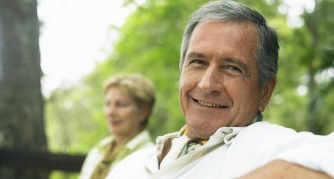 набряки у чоловіка після 50 років