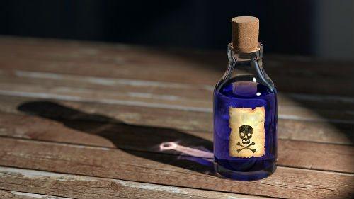 Отруєння отрутами перорально