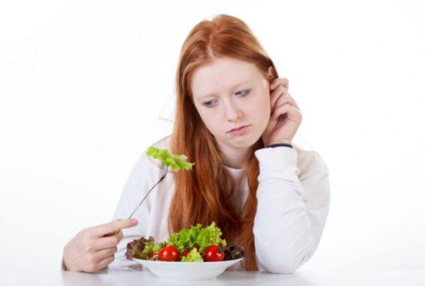 відсутність апетиту