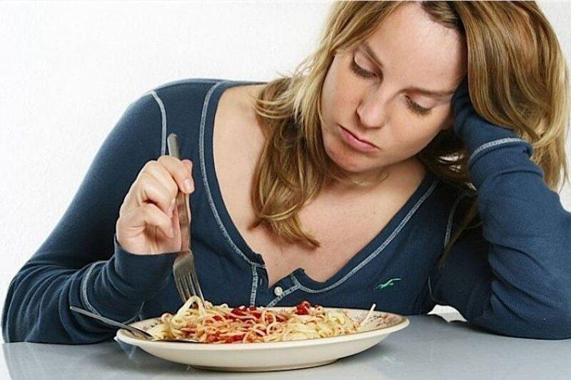 Отсутствие аппетита как один из явных признаков депрессии