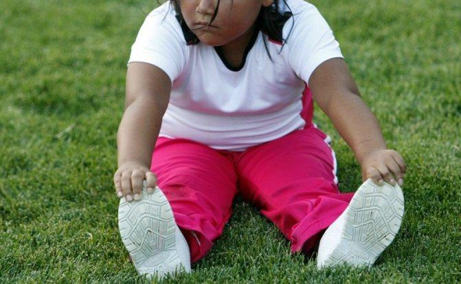 Ожиріння у дітей лікування