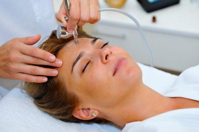 Озонотерапія проти демодекса на обличчі