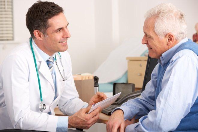 Пацієнт на прийомі у лікаря