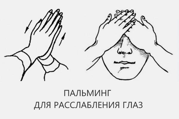 Пальминг для очей