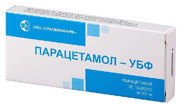 Парацетамол УФБ - інструкція із застосування