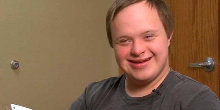 Хлопець з синдромом Дауна