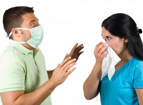 Передача пневмонії повітряно-крапельним шляхом