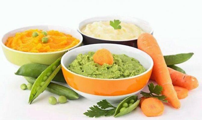 перетерті овочі для дієти 5