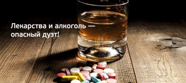 Периндоприл і алкоголь