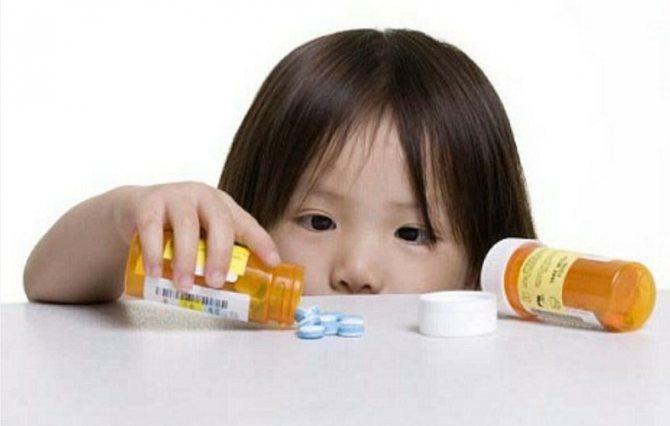 Перша допомога при отруєнні лікарськімі препаратами