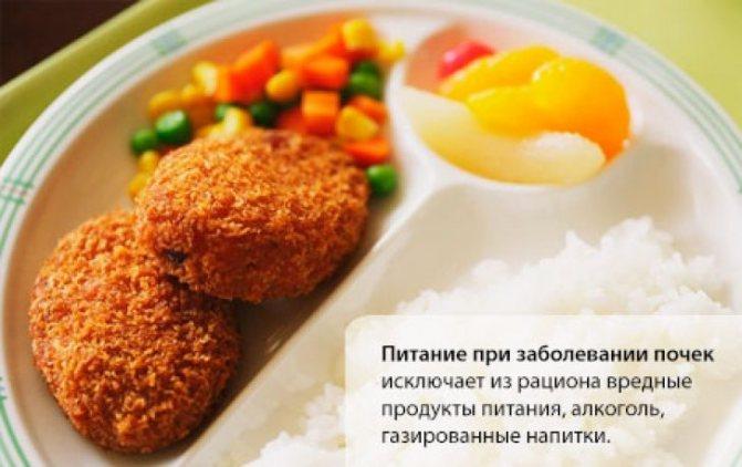 харчування при захворюванні нирок