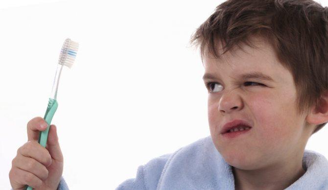 Погана гігієна порожніні рота виробляти до карієсу молочних зубів