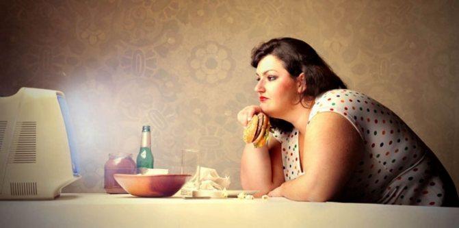 Погане харчування провокує міому